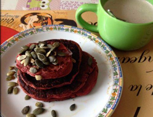 Pancake Patate Dolci e Rapa Rossa