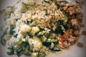 Risotto con Zucchine e Cipolla