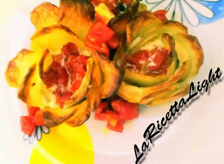 Tortini Rose di Patate e Albumi