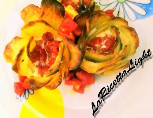 Tortini Rose di Patate e Albumi