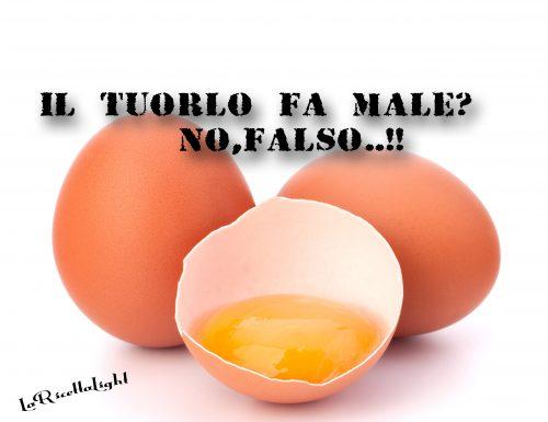 Il tuorlo delle uova fa male? Falso!